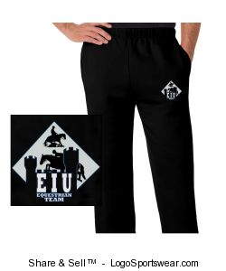 Open Bottom Fleece Pant Design Zoom